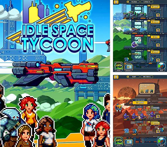 Idle space tycoon: Incremental cash game
