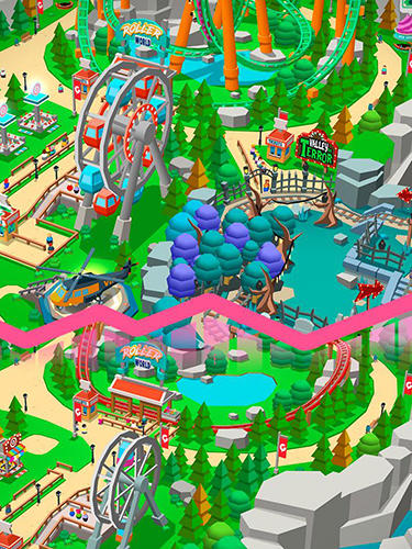 Idle theme park tycoon: Recreation game screenshot 2