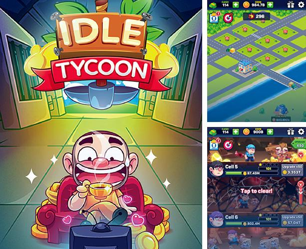 Zusätzlich zum Spiel Blocky Farm für Android-Telefone und Tablets können Sie auch kostenlos Idle tycoon: Crystal mine, diamond mine and gold mine, Leerlauf Tycoon: Minen mit Kristallen, Diamanten und Gold herunterladen.