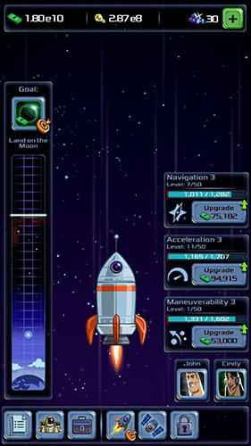 Гра Idle tycoon: Space company на Android - повна версія.