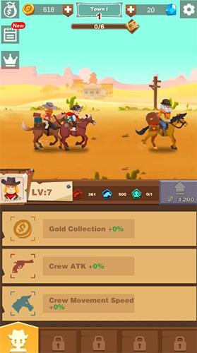 Idle Wild West screenshot 1