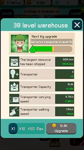 Idle workshop tycoon screenshot 1