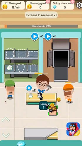 Idle workshop tycoon screenshot 3