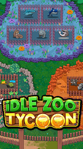 Idle zoo tycoon: Tap, build and upgrade a custom zoo обложка