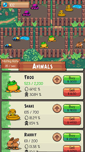Idle zoo tycoon: Tap, build and upgrade a custom zoo скриншот 5