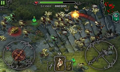Screenshots von iDracula - Undead Awakening für Android-Tablet, Smartphone.