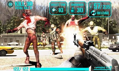 Screenshots von Igun Zombie für Android-Tablet, Smartphone.