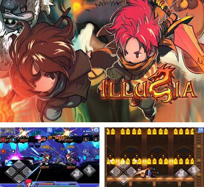 In addition to the game Deadly Dungeon for Android phones and tablets, you can also download ILLUSIA for free.