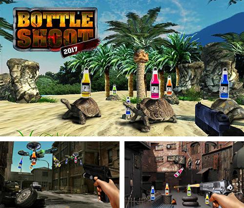 Кроме игры Bottle shooter game 3D скачайте бесплатно Impossible bottle shoot gun 3D 2017: Expert mission для Android телефона или планшета.