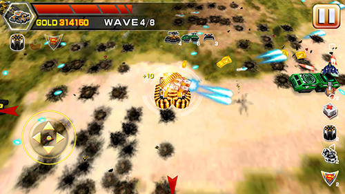 Screenshots do Impossible tank battle - Perigoso para tablet e celular Android.