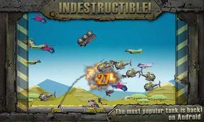 Screenshots von IndestructoTank für Android-Tablet, Smartphone.