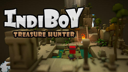 Indiboy: Treasure hunter poster