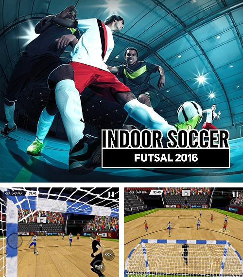 In addition to the game Shoot goal: League 2017 for Android phones and tablets, you can also download Indoor soccer futsal 2016 for free.