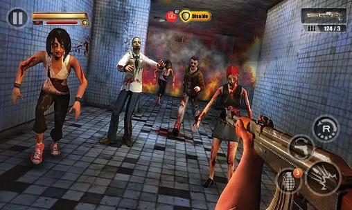 Kostenloses Android-Game Infiziertes Haus: Zombie Shooter. Vollversion der Android-apk-App Hirschjäger: Die Infected house: Zombie shooter für Tablets und Telefone.