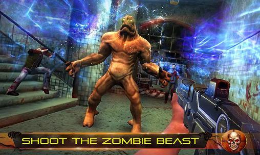 Screenshots von Infected house: Zombie shooter für Android-Tablet, Smartphone.