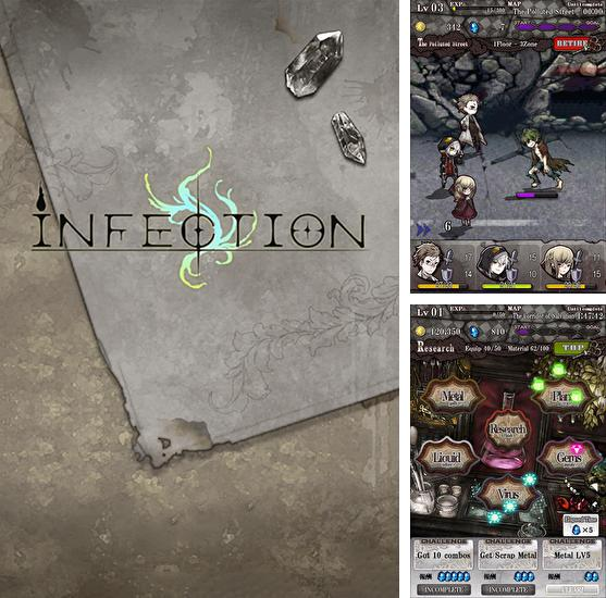 In addition to the game Heroes War for Android phones and tablets, you can also download Infection for free.
