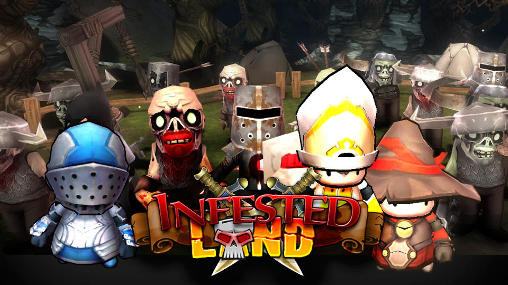 Infested land: Zombies обложка