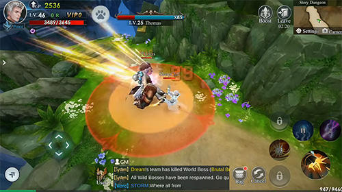 Infinite legend screenshot 2