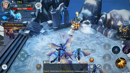 Infinite legend screenshot 3