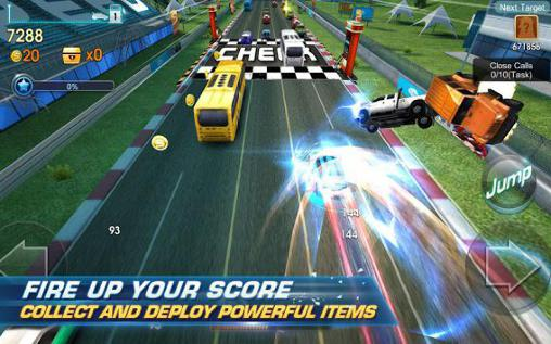 Kostenloses Android-Game Unendlicher Raser: Dash and Dodge. Vollversion der Android-apk-App Hirschjäger: Die Infinite racer: Dash and dodge für Tablets und Telefone.