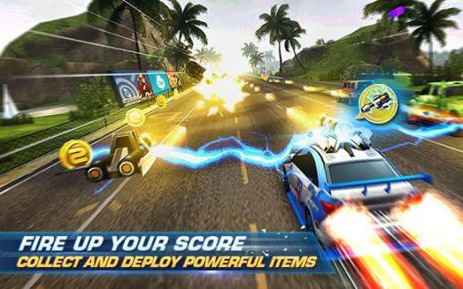 Screenshots von Infinite racer: Dash and dodge für Android-Tablet, Smartphone.