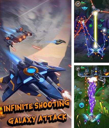 In addition to the game Pac-Man hats 2 for Android phones and tablets, you can also download Infinite shooting: Galaxy attack for free.