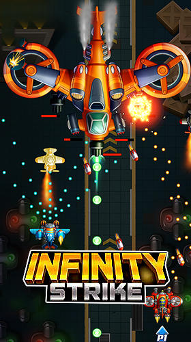 Infinity strike: Space shooting idle chicken