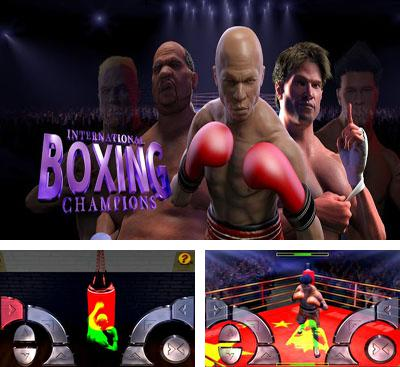 In addition to the game A Space Shooter for Android phones and tablets, you can also download International Boxing Champions for free.