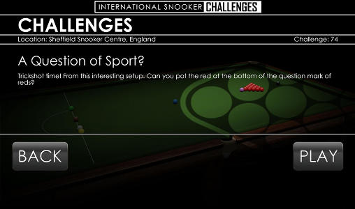 International snooker challenges für Android spielen. Spiel Internationale Snooker Meisterschaft kostenloser Download.