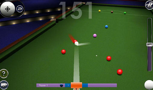 Android タブレット、携帯電話用International snooker challengesのスクリーンショット。