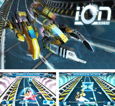 In addition to the game Spider Rider for Android phones and tablets, you can also download Ion Racer for free.