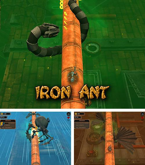 Iron ant: An ant surviving against death
