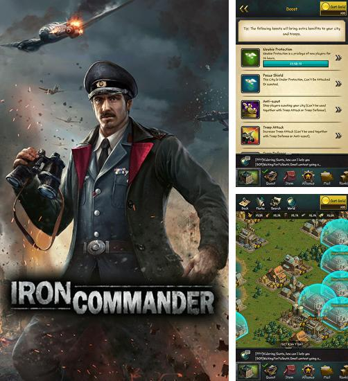 In addition to the game Red warfare: Let's fire! for Android phones and tablets, you can also download Iron commander for free.