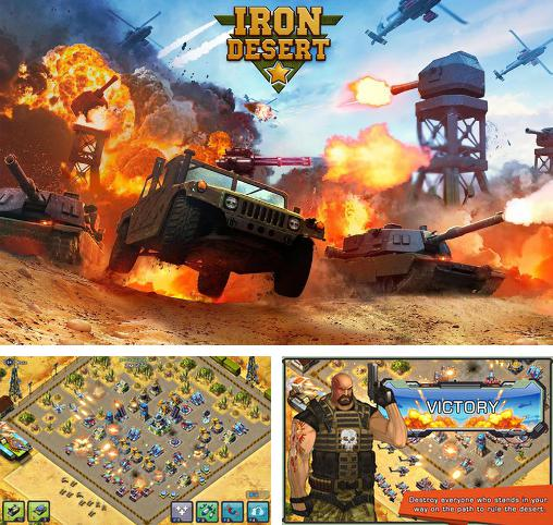 In addition to the game War of tanks: Online for Android phones and tablets, you can also download Iron desert for free.
