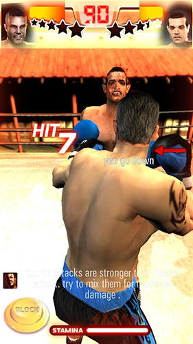 Iron fist boxing lite: The original MMA game screenshot 1