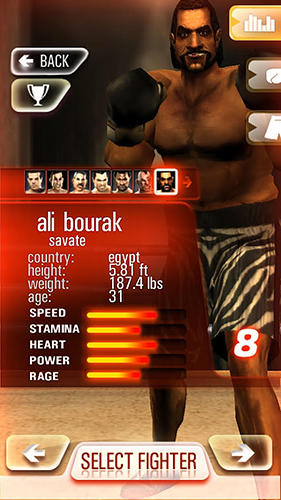 Iron fist boxing lite: The original MMA game screenshot 5