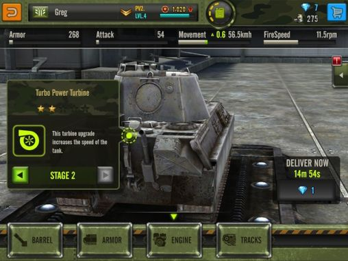 Screenshots von Iron force für Android-Tablet, Smartphone.