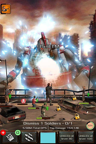 Iron giants: Tap robot games скриншот 2