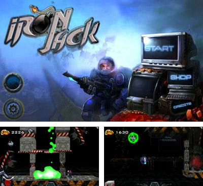 In addition to the game Monsterthon for Android phones and tablets, you can also download Iron Jack for free.