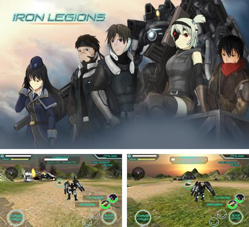 In addition to the game DROID Combat for Android phones and tablets, you can also download Iron legions for free.