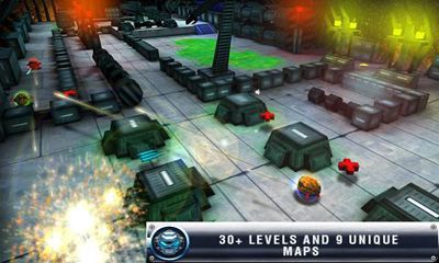 Screenshots von Iron Wars für Android-Tablet, Smartphone.