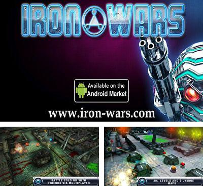 In addition to the game ANGRY BOTS 9MB for Android phones and tablets, you can also download Iron Wars for free.