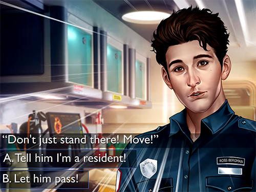 Screenshots von Is it love? Blue swan hospital. Choose your story für Android-Tablet, Smartphone.