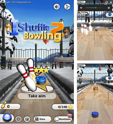 In addition to the game Curlington HD for Android phones and tablets, you can also download iShuffle Bowling 2 for free.