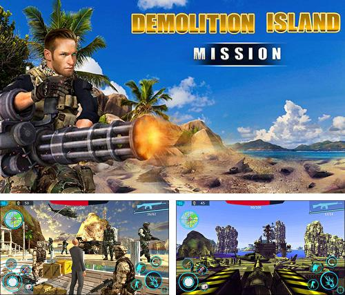 In addition to the game Firefighters in Mad City for Android phones and tablets, you can also download Island demolition ops: Call of infinite war FPS for free.