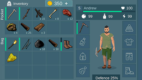 Island survival: Hunt, craft, survive screenshot 2