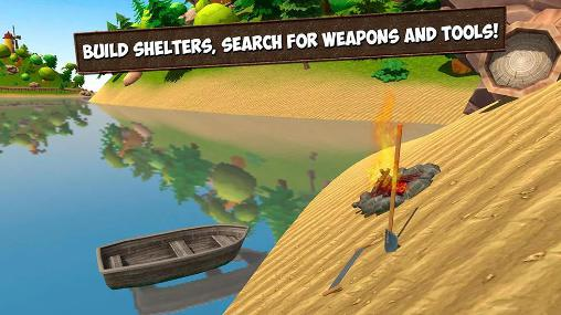 Screenshots von Island survival simulator 3D für Android-Tablet, Smartphone.