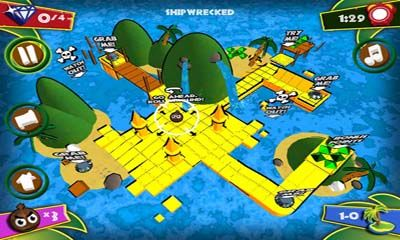 Juega a Islands of Diamonds para Android. Descarga gratuita del juego Isla de diamantes .