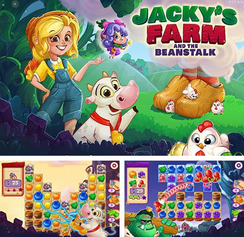In addition to the game Cube blast rescue toy block for Android phones and tablets, you can also download Jacky's farm and the beanstalk for free.