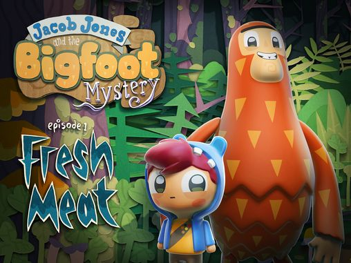 Jacob Jones and the bigfoot mystery: Episode 1 - Fresh meat